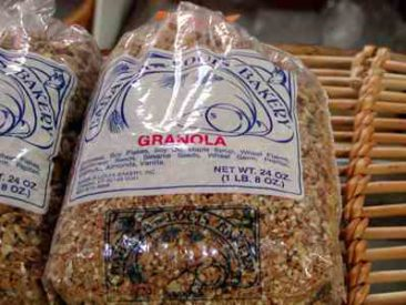 Using all organic grains, almonds and seeds, granola is wonderful for breakfast. People often mail-order this item.